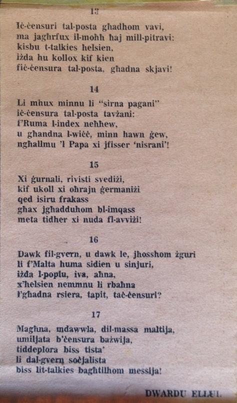 Dwardu Ellul - Limerikki 1972 - Limerikki 13-17.JPG