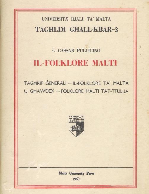 il-folklore-malti